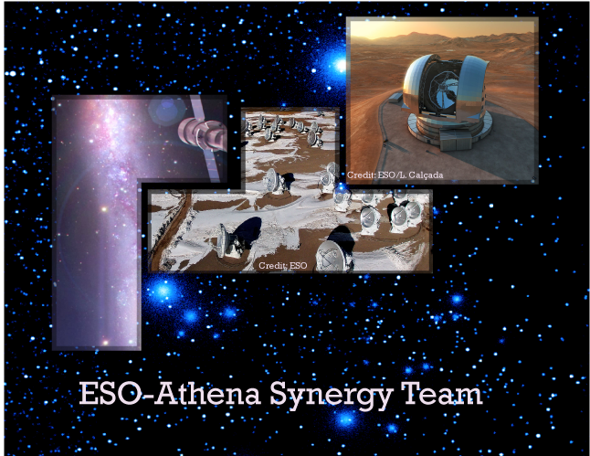 ESO-Athena synergy exercise underway