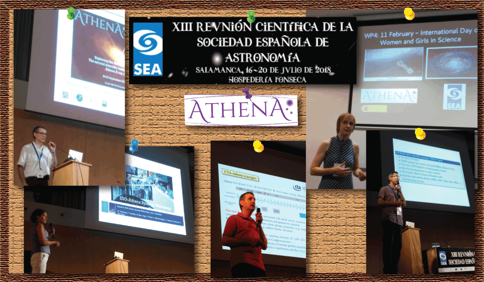 Athena at the XIII Scientific Meeting of the Spanish Astronomical Society