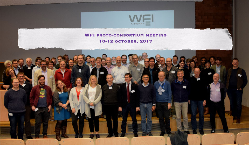 Summary of the sixth WFI Consortium meeting by Arne Rau (Project Scientist of WFI)