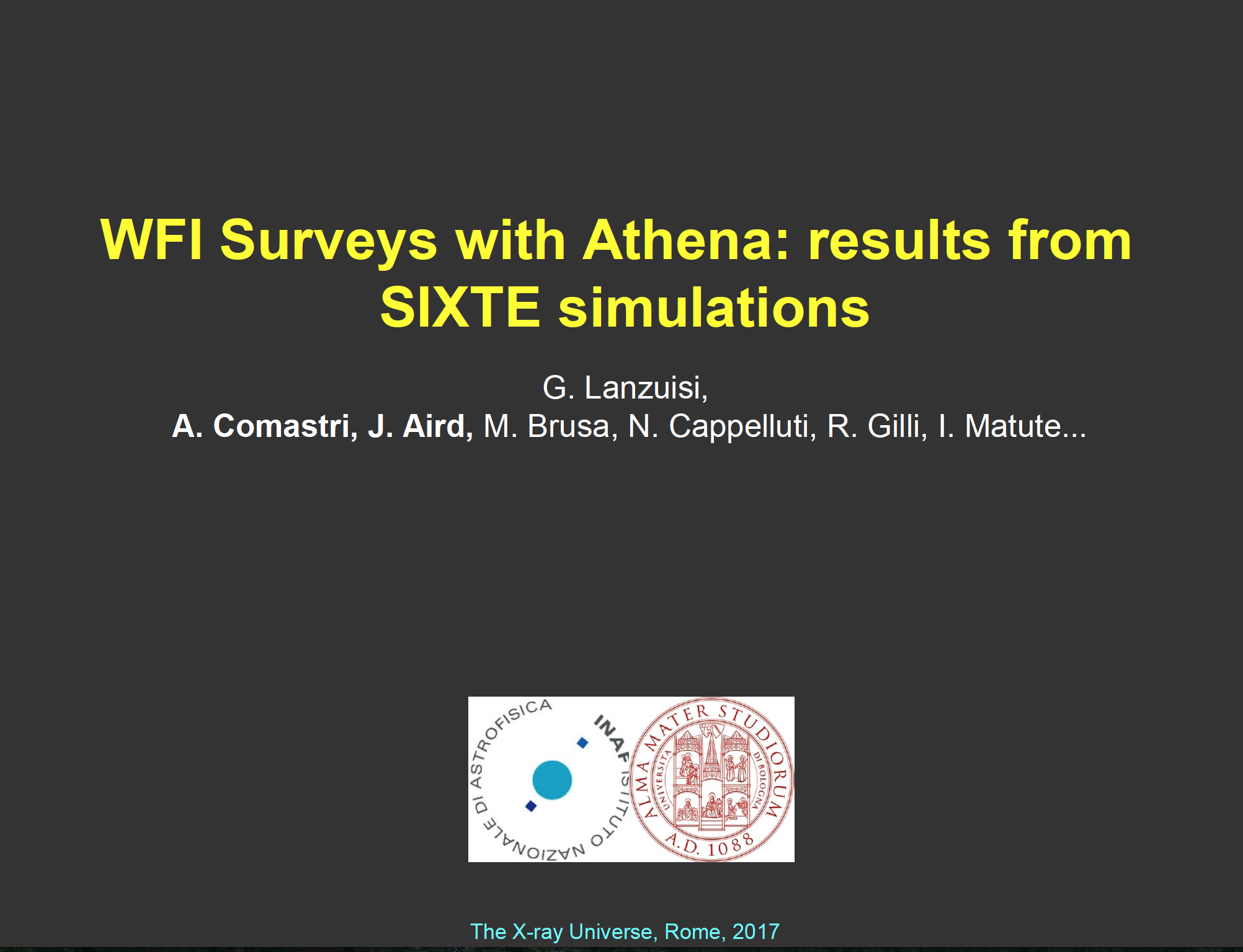 WFI Surveys with Athena: results from SIXTE simulations