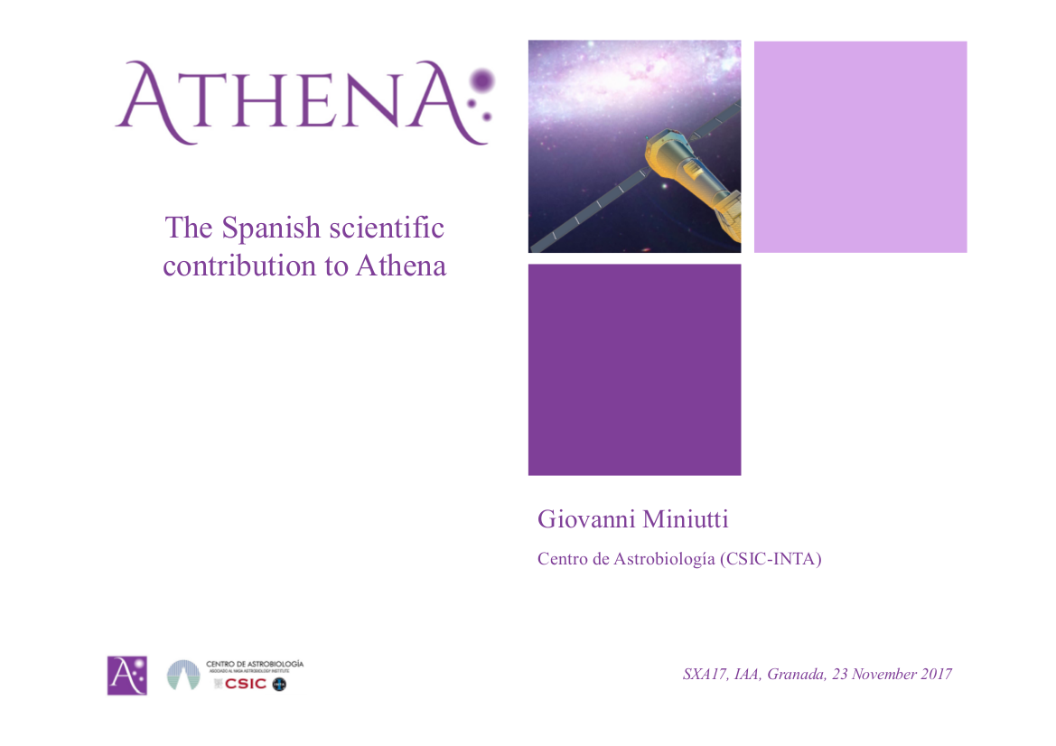 The Spanish scientific contribution to Athena