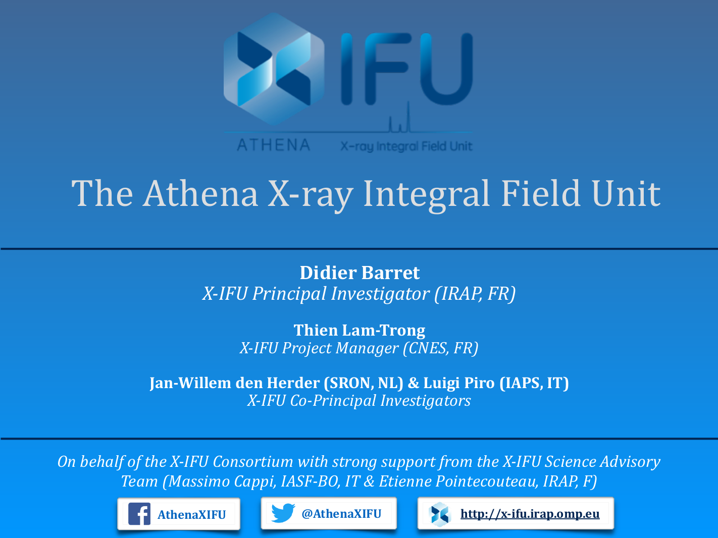 The Athena X-ray Integral Field Unit