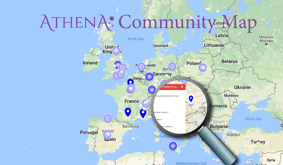 The Athena community, a global community without frontiers