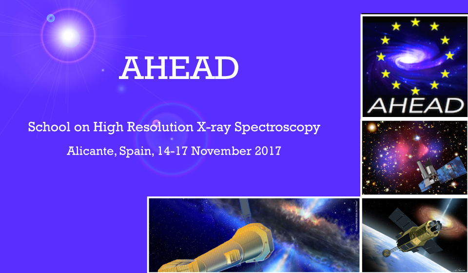 Registration open for the AHEAD School on High Resolution X-ray Spectroscopy.