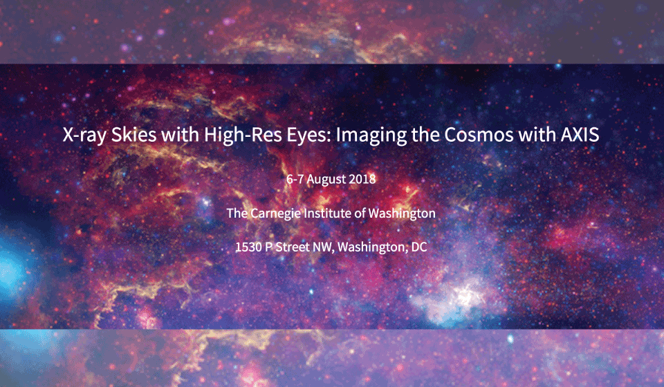 X-ray Skies with High-Res Eyes: Imaging the Cosmos with AXIS. 6-7 August 2018