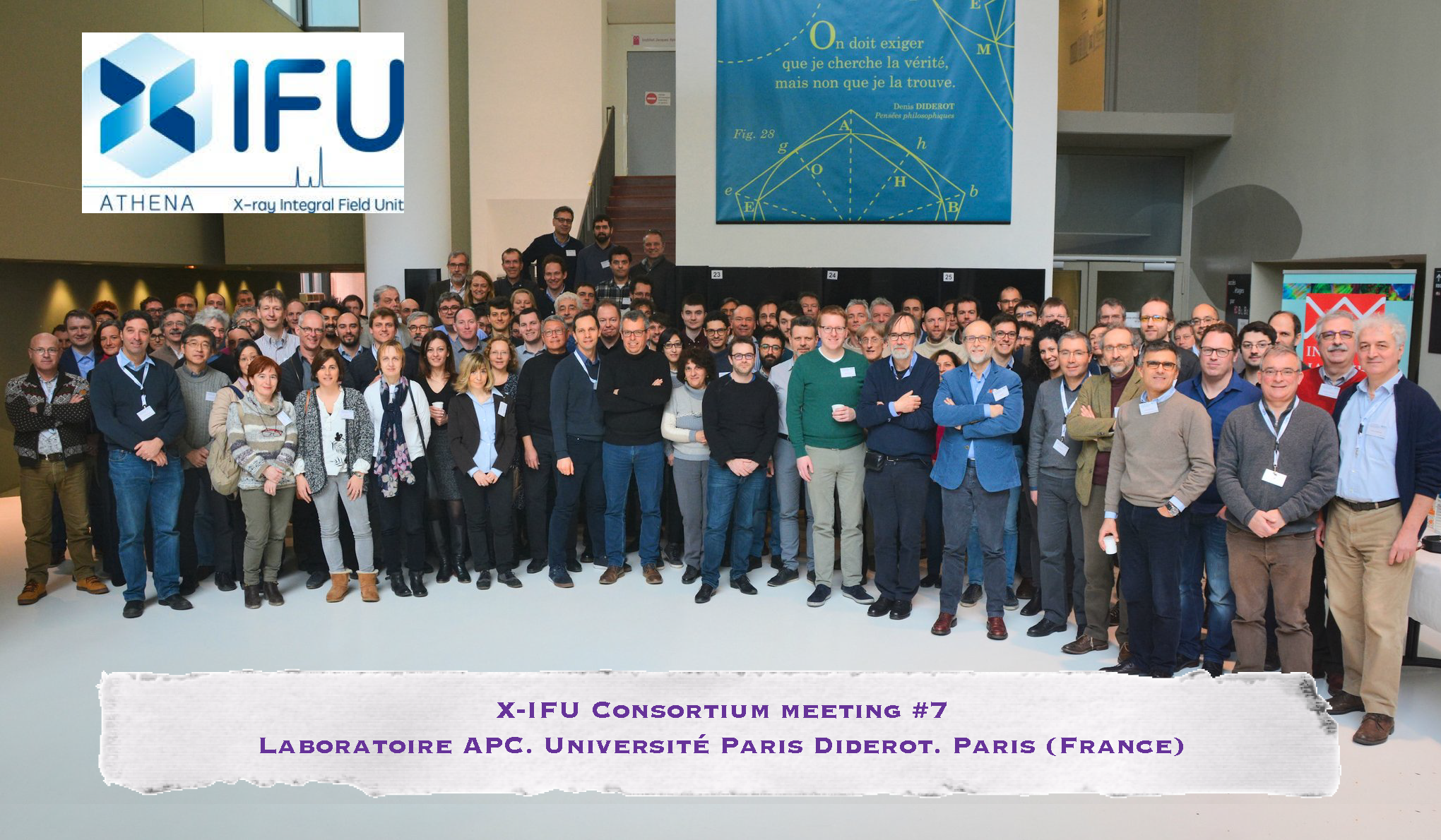 The seventh X-IFU consortium meeting: presenting the consolidated baseline of the X-IFU