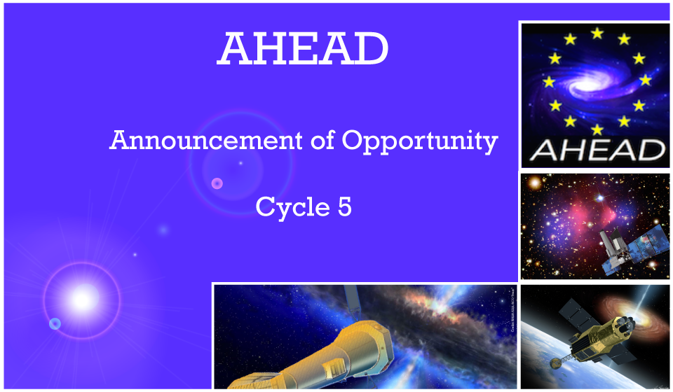 AHEAD Announcement of Opportunity Cycle 5