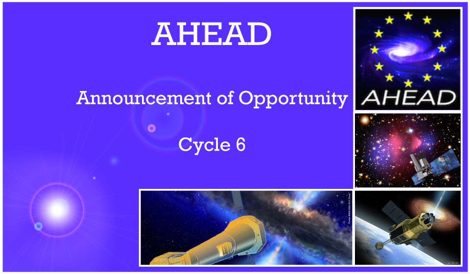 AHEAD – Announcement of Opportunity Cycle 6