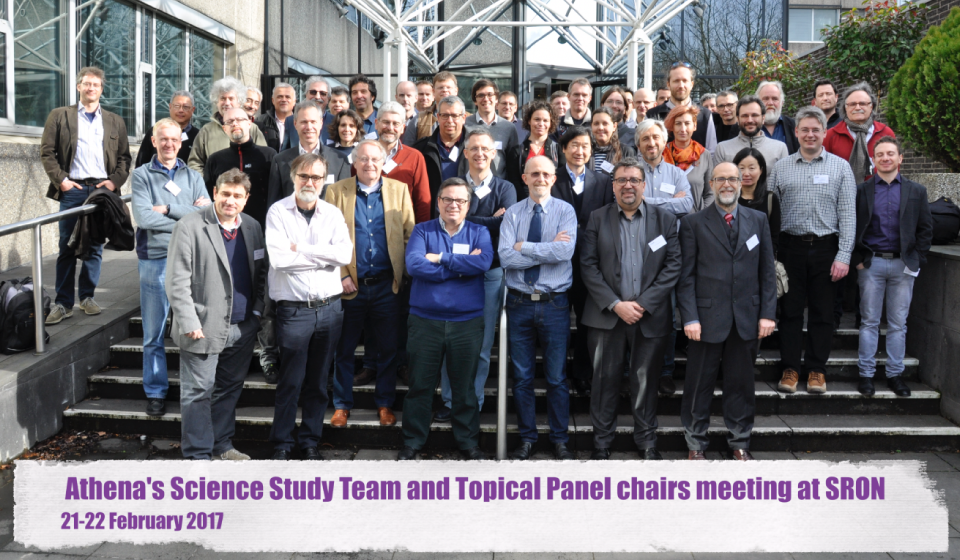 Athena's Science Study Team and Topical Panel chairs meet at SRON