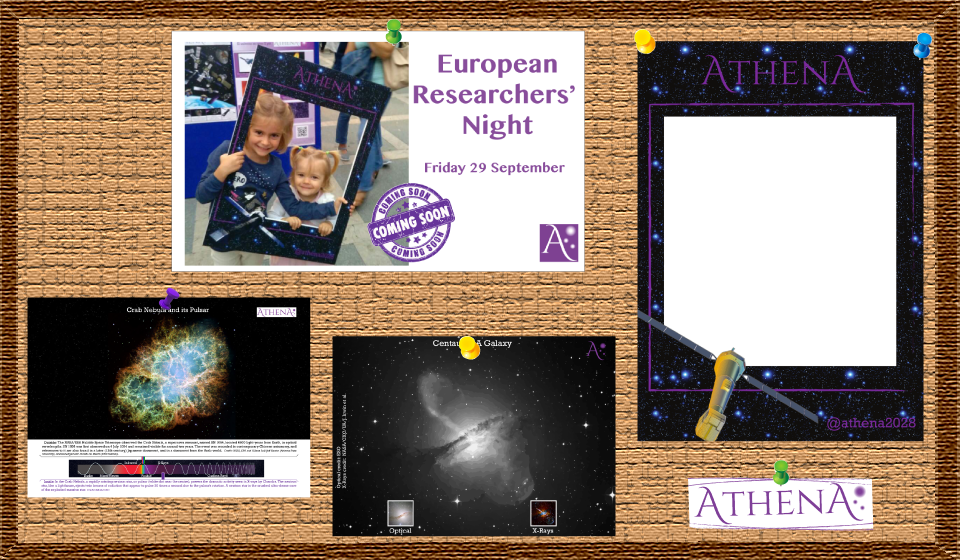 New outreach material for the European Researcher's Night