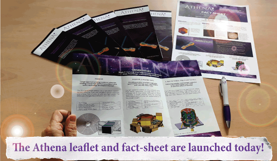 The Athena new leaflet and fact-sheet are launched today!