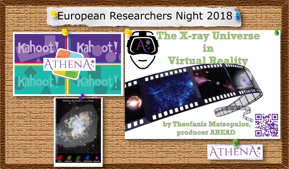 Athena at the European Researchers Night 2018 in Santander