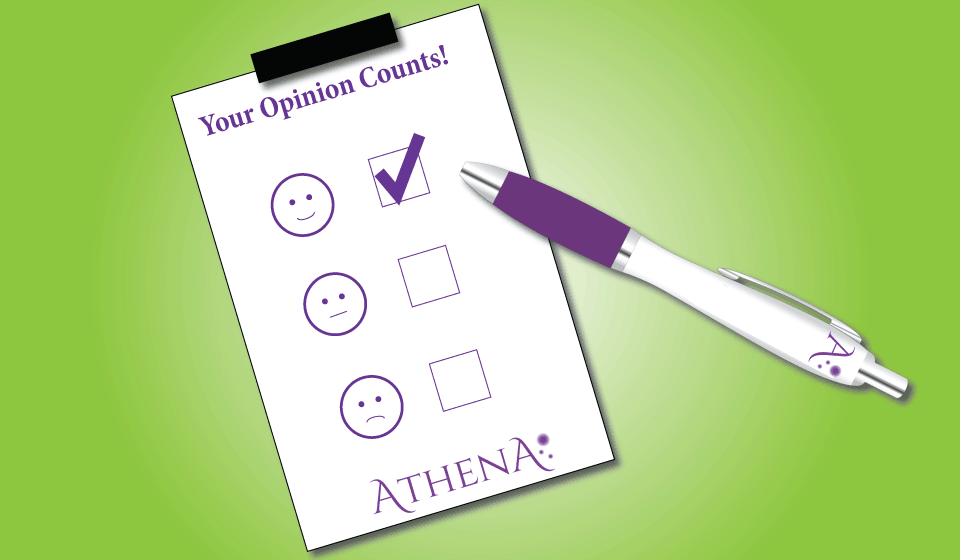 Your opinion counts!