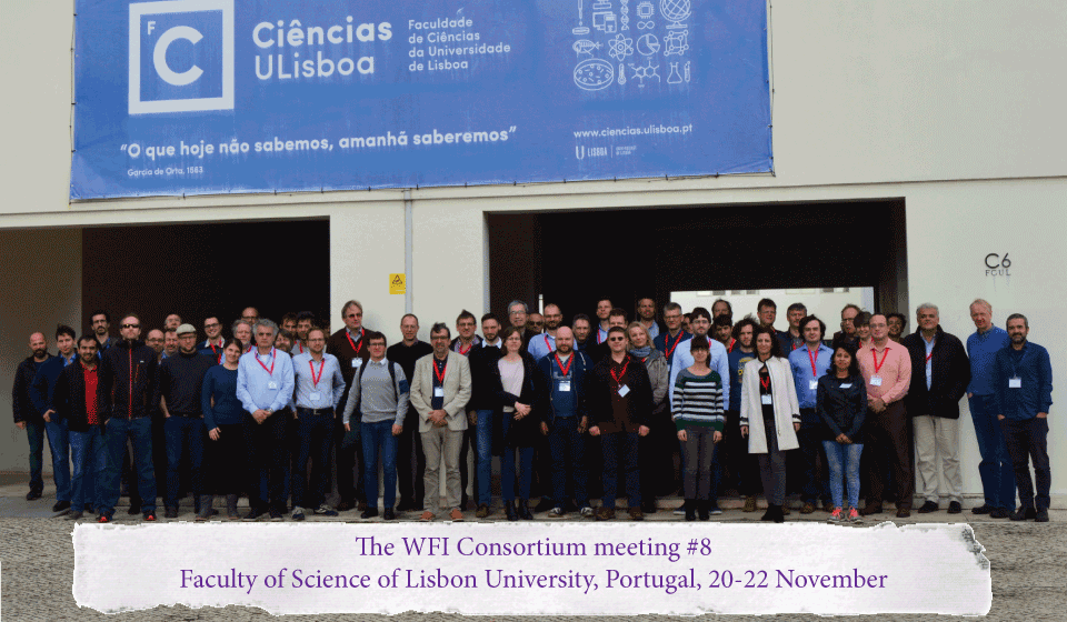 The WFI Consortium meeting #8, Lisbon, Portugal, 20-22 November